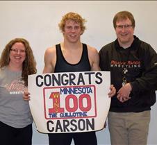 wrestling haugrud 100 win