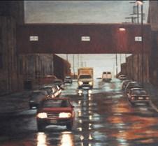 Rain on Carroll Street II