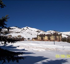 Canyons Ski Area from Red Pine Condo