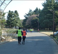 Helping Sight Impaired Runners in Yoyogi