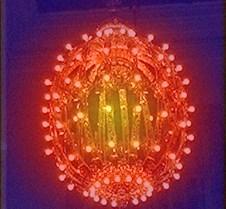 grand central chandelier rainbow