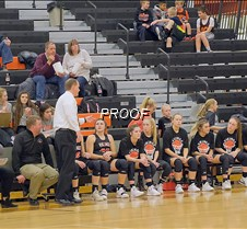 basketball girls bench