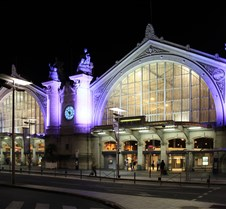 Gare de Tours (Train Station) At Night