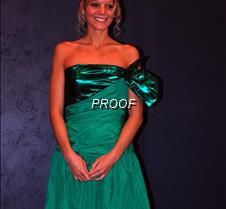 Melanie Harris prom dress