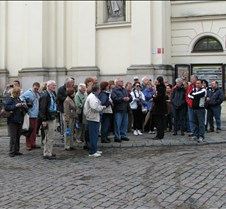 Our Tour Group In Warsaw