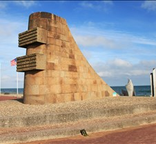 Omaha Beach Memorial, WWII