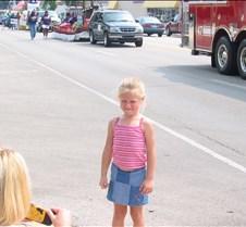 Hannah waiting for Dad