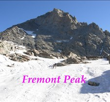 FremonPeak The Firebaugh Expedition successfully climbed Fremont Peak (el. 13,745) the third highest mountain in WY on Aug. 20, 2009.  It was Morris' third climb, Steve's second climb, and Ray (age 10) and Max (age 7) first climb of this magnificent mountain.  The si