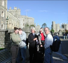 Windsor Castle tourists