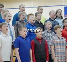 Sixth grade choir boys