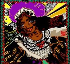 Creole dancer