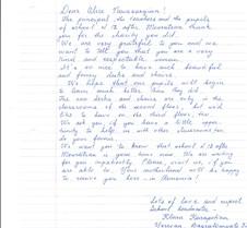 Letter for Alice Navasardian