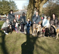 Rescued Racers 1st ever Sunday Step Out Held at Gnoll Park in Neath.