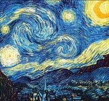 The Starry Night - Vincent Van Gogh