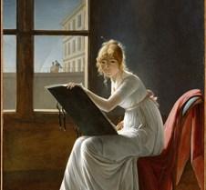 Self Portrait - Marie Denise Villers - 1