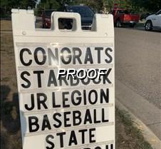 Sign outside VFW