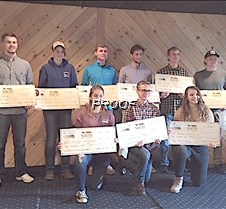 NWTF scholarship winners