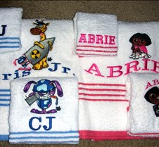 Children towel set