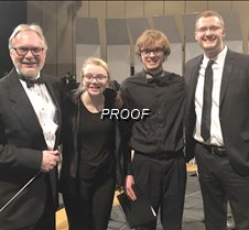St Olaf honor band