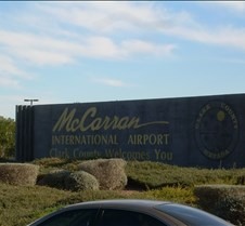 McCarran Airport Sign