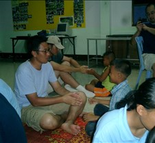 129 steve and sung playing with kids