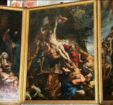 Rising of the Cross (triptych), Rubens