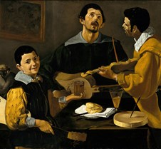 305The Three Musicians-Diego Velázquez-1