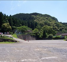 Mt Takao from parking lot