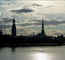 Riga Latrvia's Skyline
