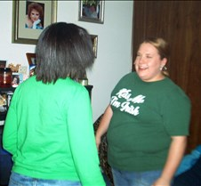 rae and sarah dancing
