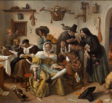 Beware of Luxury - Jan Steen - 1665