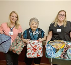 GRHS Lily Bags Donation