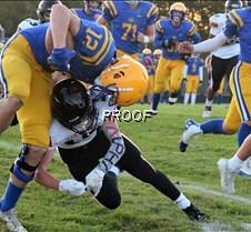football justin VerDorn tackle