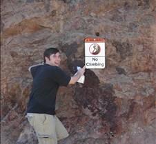 Charles Climbing
