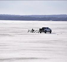 The lake to himself