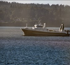 Commercial Fisherman En Route to Seattle