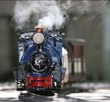 Roundhouse Darjeeling Steam Locomotive