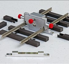 Rail Anchor Clamped During Bonding
