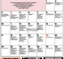 Spet Calendar FACEBOOK