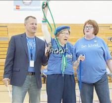 Margaret cheering 3
