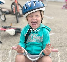 Bike rodeo, Taylyn