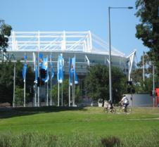 Estadio abierto tenis