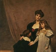 Mother & Children-E A Carolus-Duran-1897