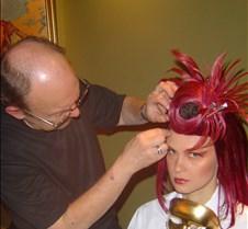 Ron Hawkins applies wig-JO3