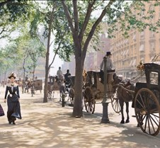Madison Square Park New York City, 1900