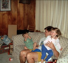 Kevin Brad and Caitlin on couch 2 200208