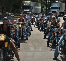 Mothers Day All Girl Riders ride to Key Largo