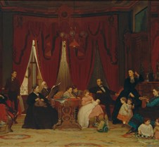 133The Hatch Family-Eastman Johnson-1870