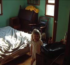 Caitlin in bedroom