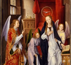The Annunciation -  Hans Memling - 1480–